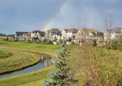 Rainbows over Lakes of Muirfield