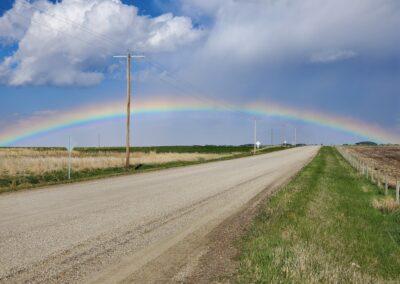 Wheatland county rainbow