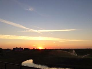 Lakes of muirfield sunset