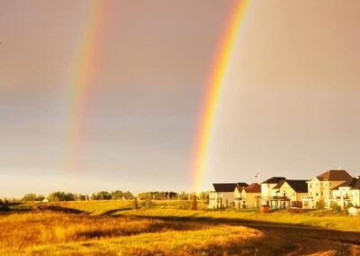 Double Rainbow at the Lakes of Muirfield