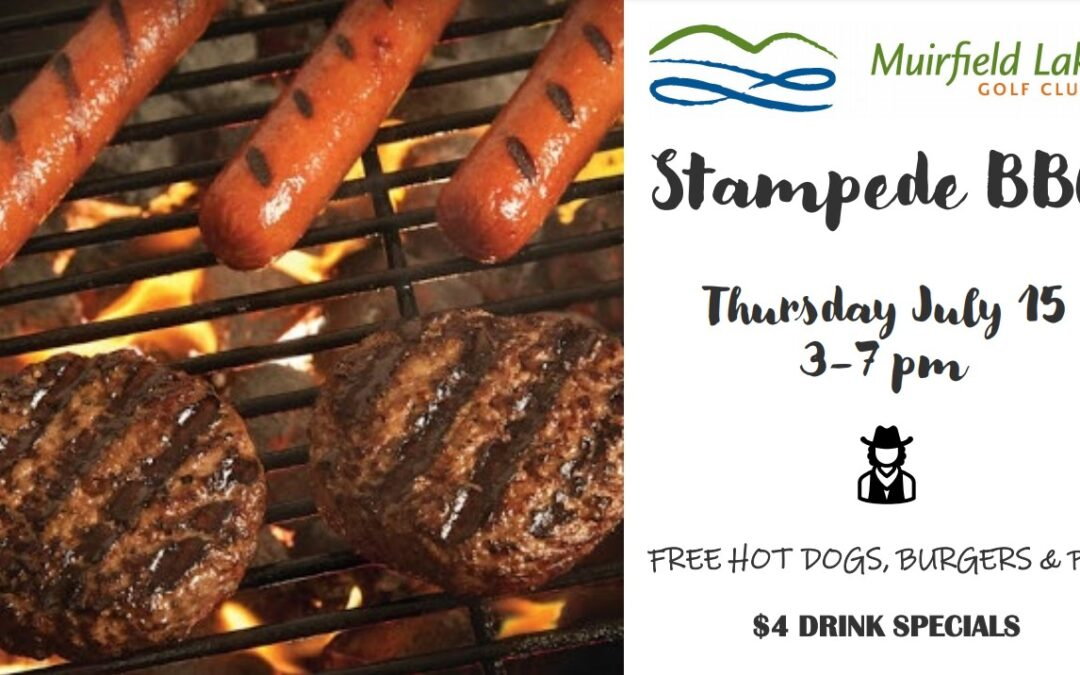 Stampede BBQ at Muirfield Lakes Golf Course